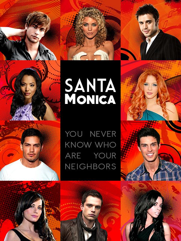 Affiche Santa Monica